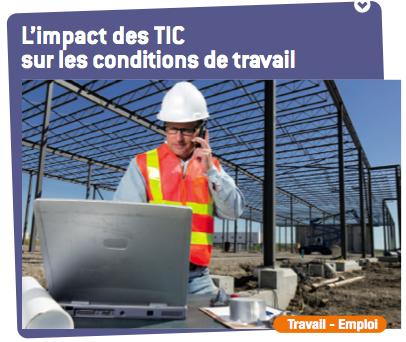 Rapport - L'impact des TIC sur les conditions de travail