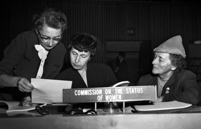The Early Years of the Commission on the Status of Women 1950, Flickr par UN Women Gallery